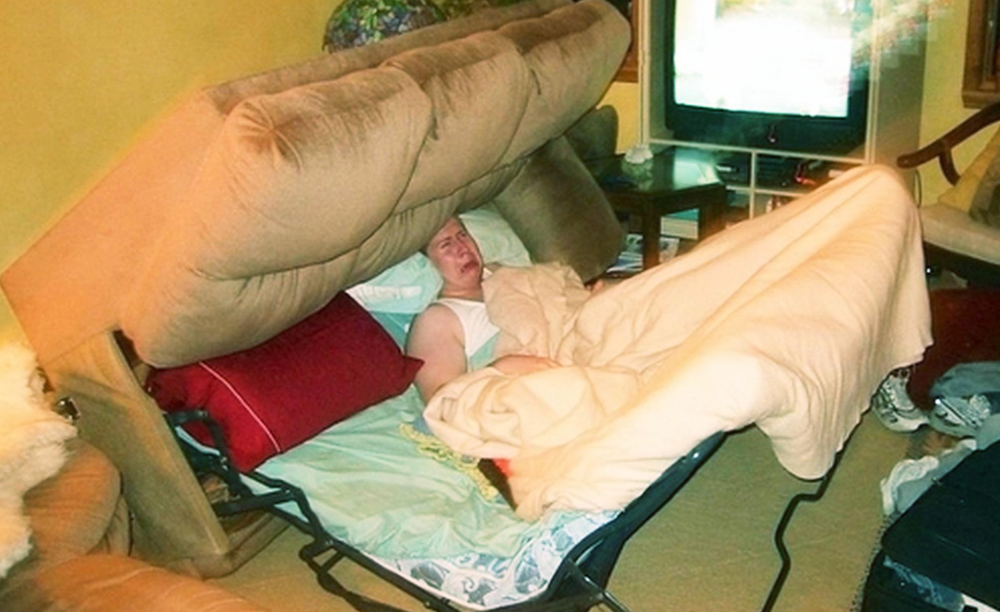 допустимая нагрузка на спальное место превышена